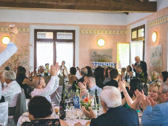 Il matrimonio di Dario e Alessandra a Ozzero, Milano 126