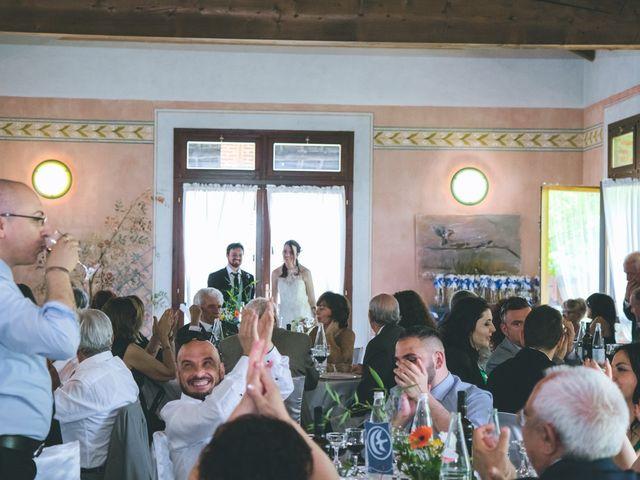 Il matrimonio di Dario e Alessandra a Ozzero, Milano 127