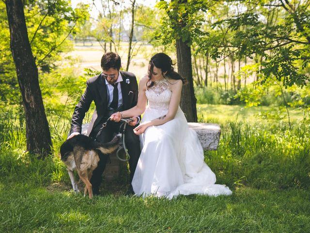 Il matrimonio di Dario e Alessandra a Ozzero, Milano 132