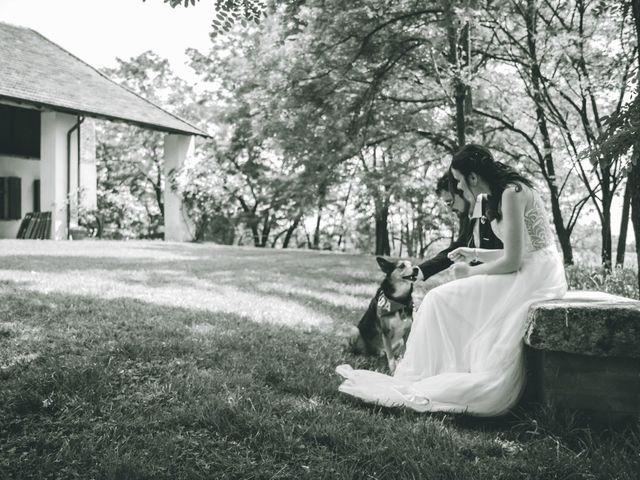 Il matrimonio di Dario e Alessandra a Ozzero, Milano 1
