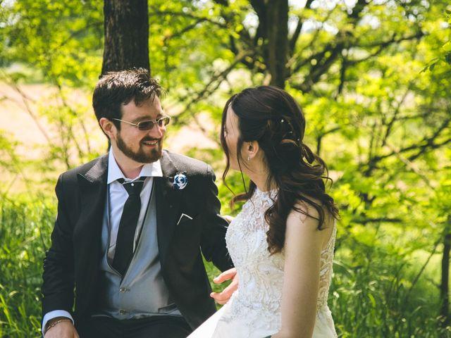 Il matrimonio di Dario e Alessandra a Ozzero, Milano 135