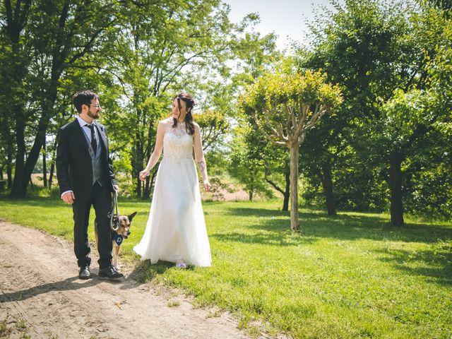 Il matrimonio di Dario e Alessandra a Ozzero, Milano 139