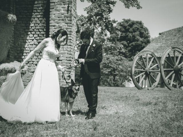 Il matrimonio di Dario e Alessandra a Ozzero, Milano 141