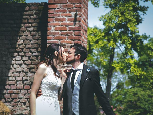 Il matrimonio di Dario e Alessandra a Ozzero, Milano 142