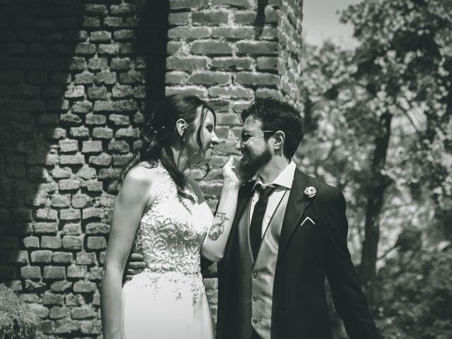 Il matrimonio di Dario e Alessandra a Ozzero, Milano 143