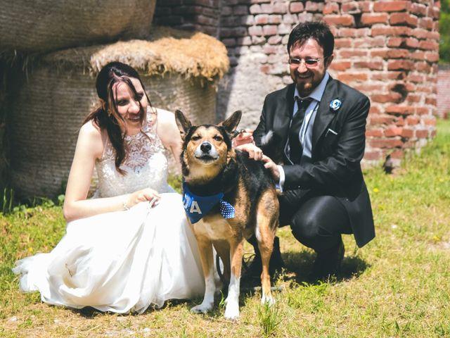 Il matrimonio di Dario e Alessandra a Ozzero, Milano 145