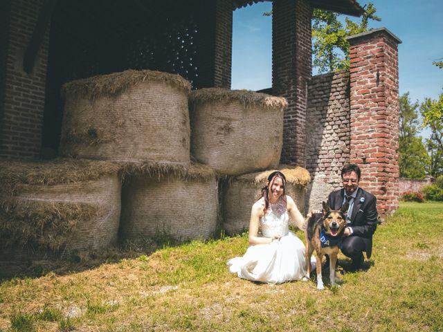 Il matrimonio di Dario e Alessandra a Ozzero, Milano 147