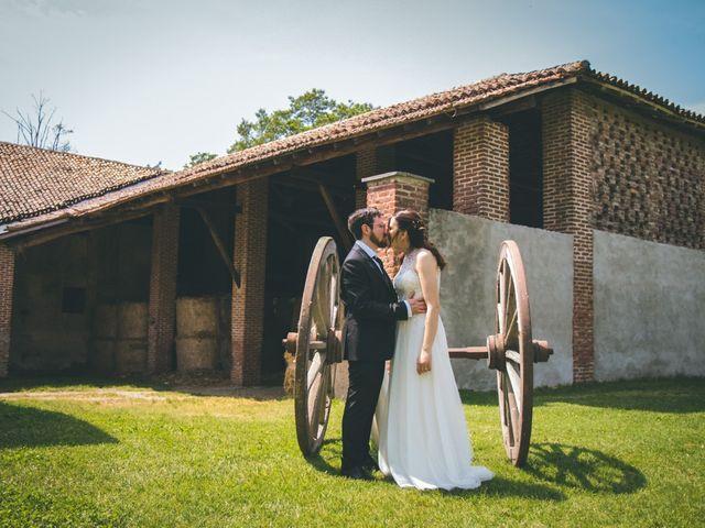 Il matrimonio di Dario e Alessandra a Ozzero, Milano 150