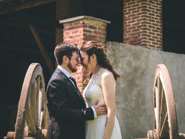 Il matrimonio di Dario e Alessandra a Ozzero, Milano 2