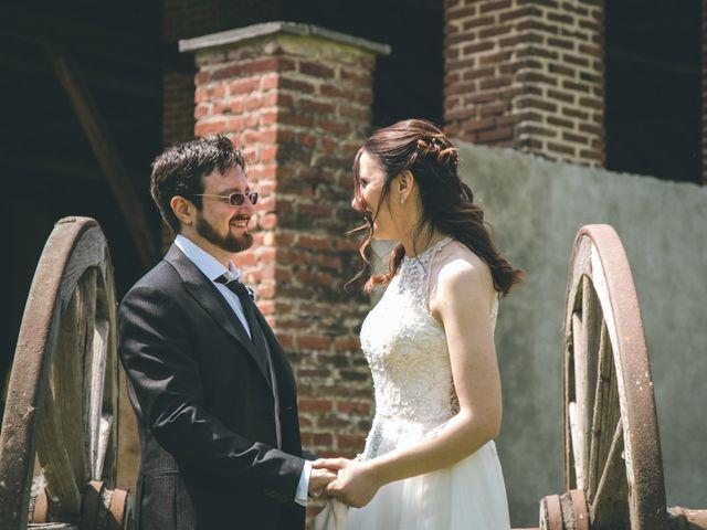 Il matrimonio di Dario e Alessandra a Ozzero, Milano 151