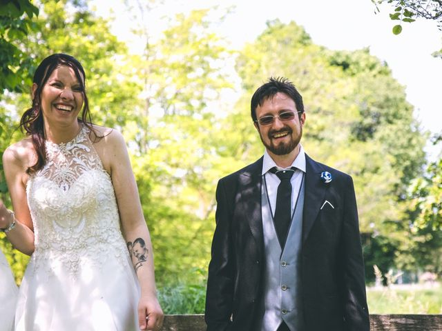 Il matrimonio di Dario e Alessandra a Ozzero, Milano 158