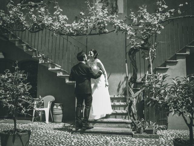 Il matrimonio di Dario e Alessandra a Ozzero, Milano 161