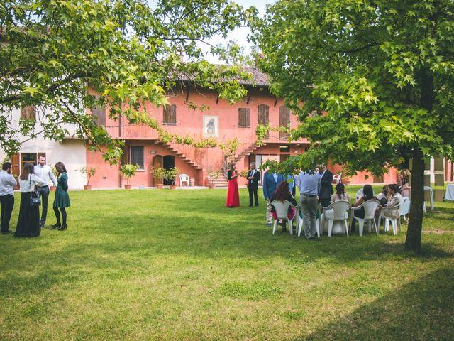 Il matrimonio di Dario e Alessandra a Ozzero, Milano 163