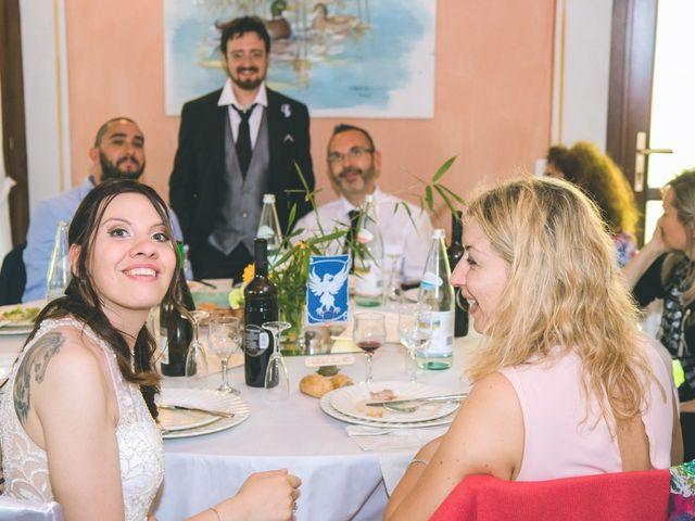 Il matrimonio di Dario e Alessandra a Ozzero, Milano 165