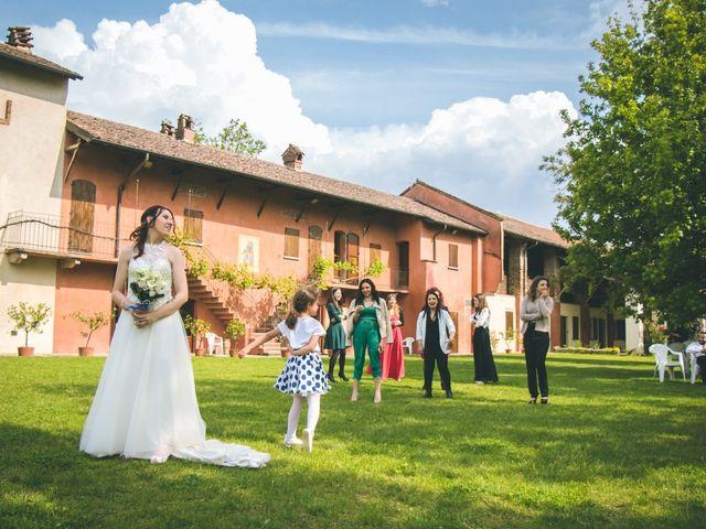 Il matrimonio di Dario e Alessandra a Ozzero, Milano 166