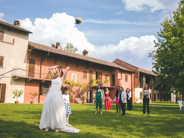 Il matrimonio di Dario e Alessandra a Ozzero, Milano 168