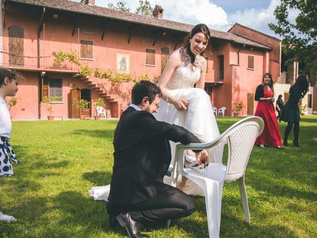 Il matrimonio di Dario e Alessandra a Ozzero, Milano 170