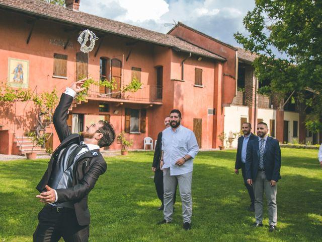 Il matrimonio di Dario e Alessandra a Ozzero, Milano 171