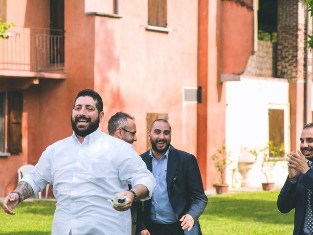 Il matrimonio di Dario e Alessandra a Ozzero, Milano 173