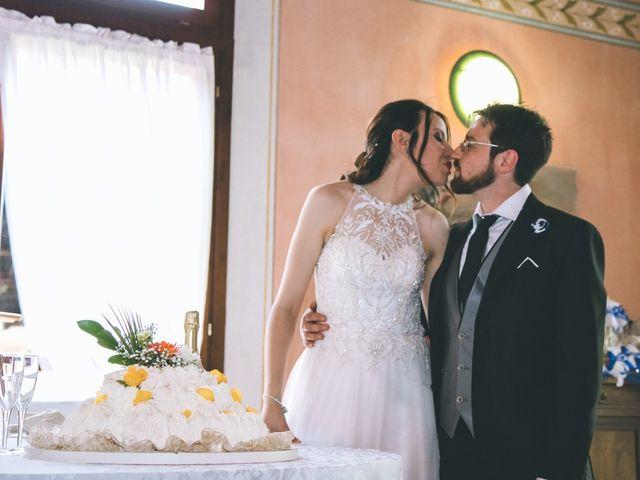 Il matrimonio di Dario e Alessandra a Ozzero, Milano 175