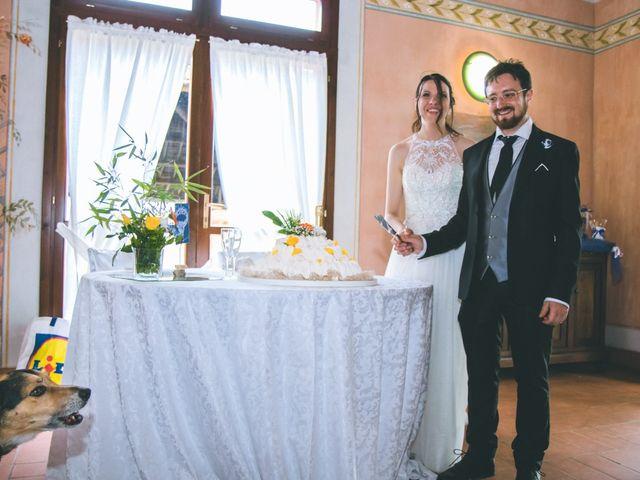 Il matrimonio di Dario e Alessandra a Ozzero, Milano 178