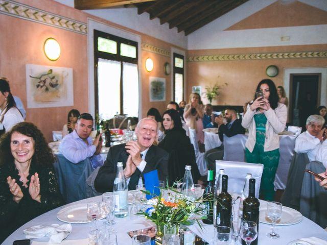 Il matrimonio di Dario e Alessandra a Ozzero, Milano 180