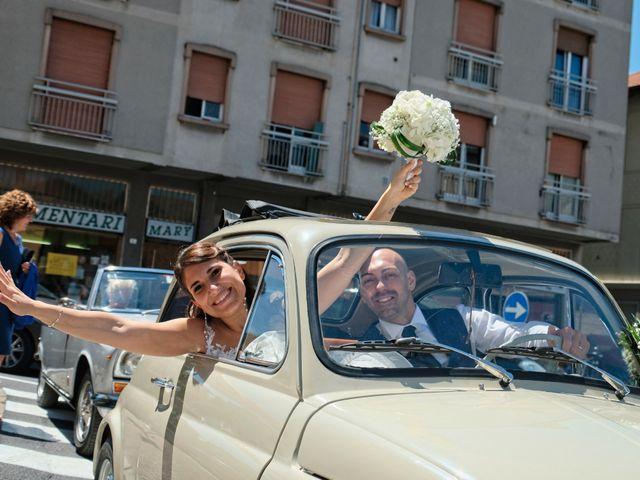 Il matrimonio di Mirko e Sara a Boltiere, Bergamo 14