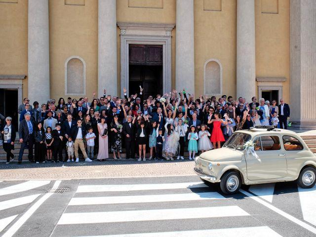 Il matrimonio di Mirko e Sara a Boltiere, Bergamo 16