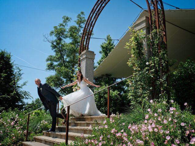 Il matrimonio di Mirko e Sara a Boltiere, Bergamo 19