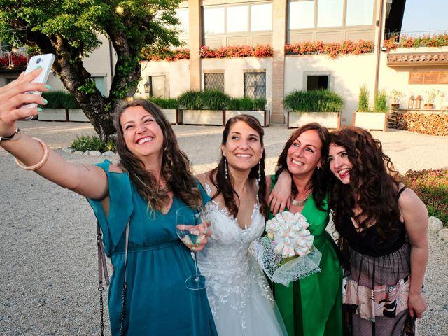 Il matrimonio di Mirko e Sara a Boltiere, Bergamo 28