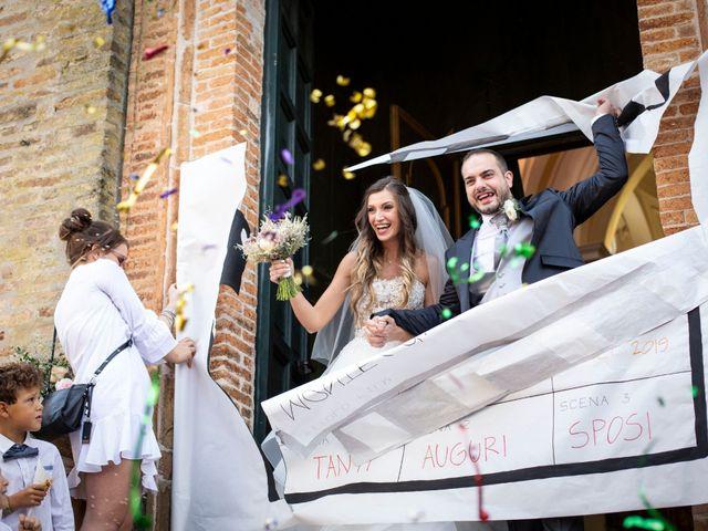 Il matrimonio di Lorenzo e Beatrice a Montecosaro, Macerata 28