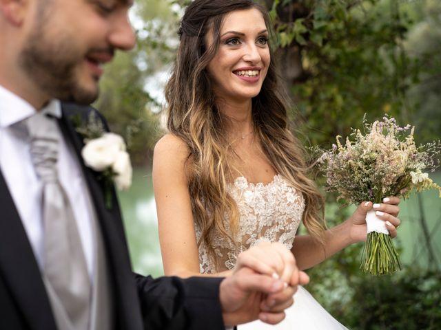 Il matrimonio di Lorenzo e Beatrice a Montecosaro, Macerata 41