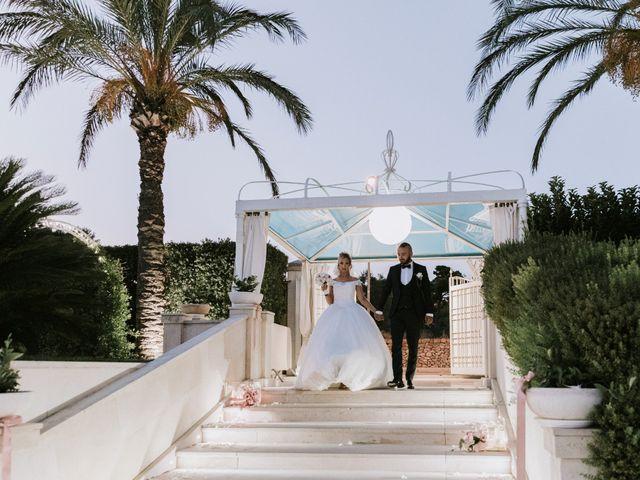 Il matrimonio di Oliver e Leslie a Gallipoli, Lecce 78