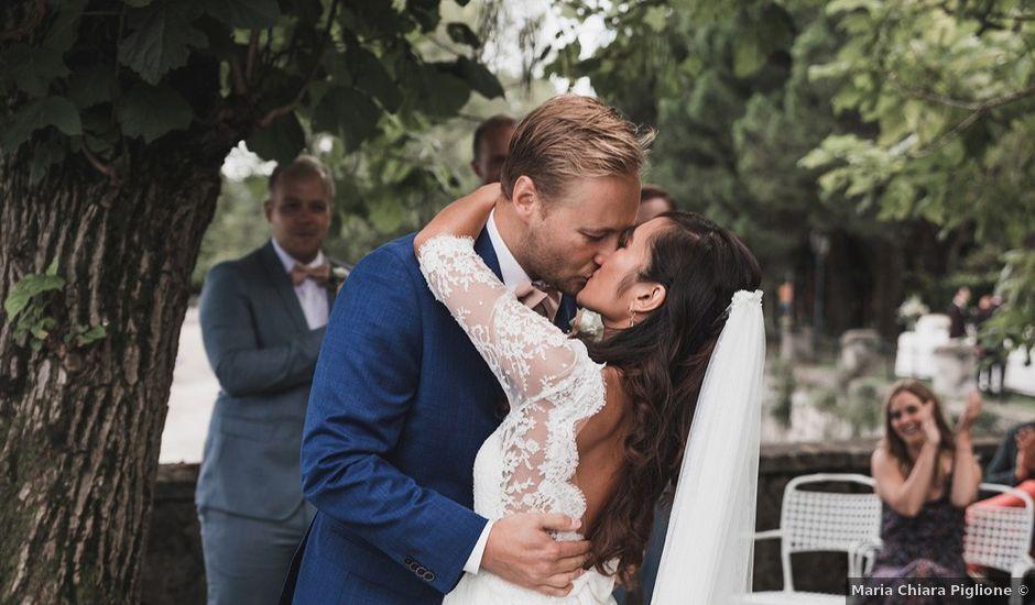 Il matrimonio di Kasper e Jacqui a Baveno, Verbania