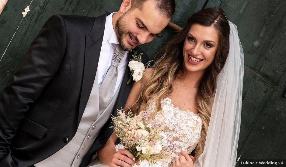 Il matrimonio di Lorenzo e Beatrice a Montecosaro, Macerata
