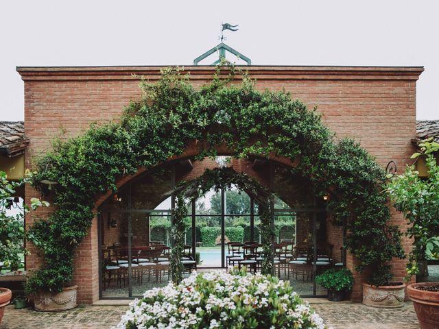Il matrimonio di Joshua e Melissa a Montepulciano, Siena 3