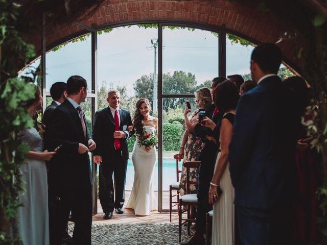 Il matrimonio di Joshua e Melissa a Montepulciano, Siena 10