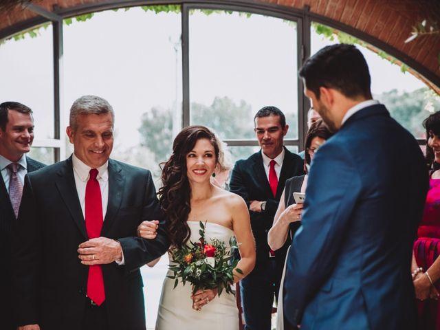 Il matrimonio di Joshua e Melissa a Montepulciano, Siena 11