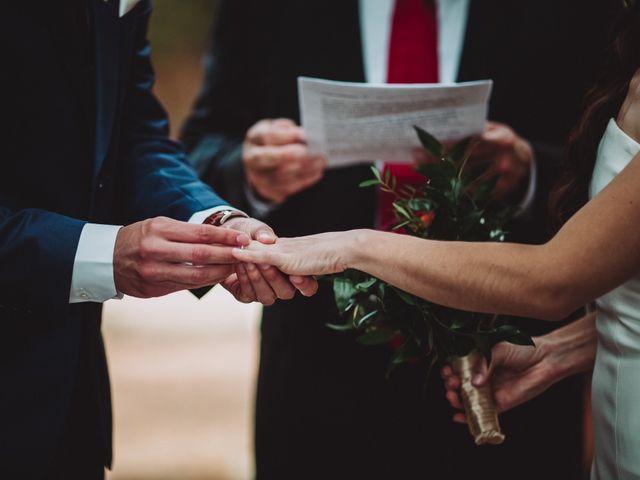 Il matrimonio di Joshua e Melissa a Montepulciano, Siena 20