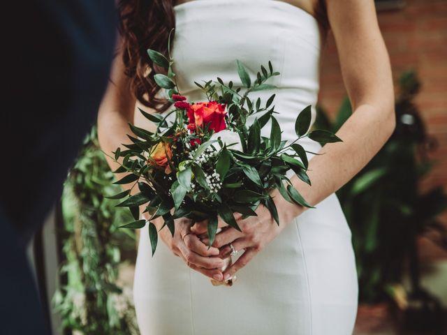 Il matrimonio di Joshua e Melissa a Montepulciano, Siena 22