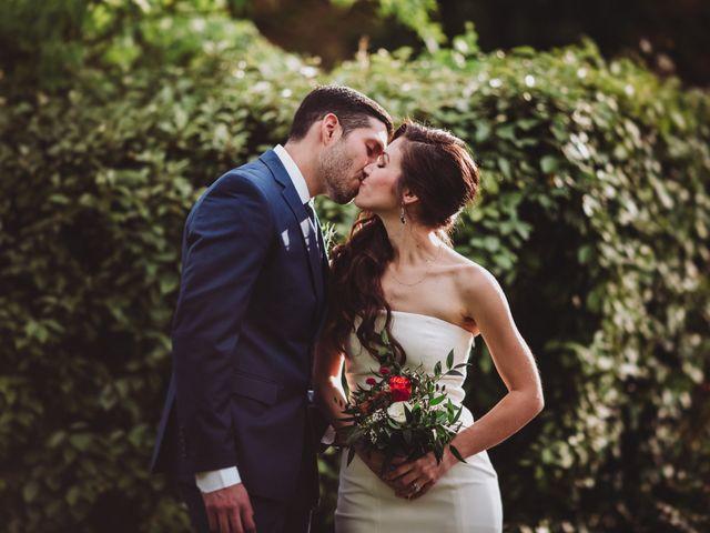 Il matrimonio di Joshua e Melissa a Montepulciano, Siena 25