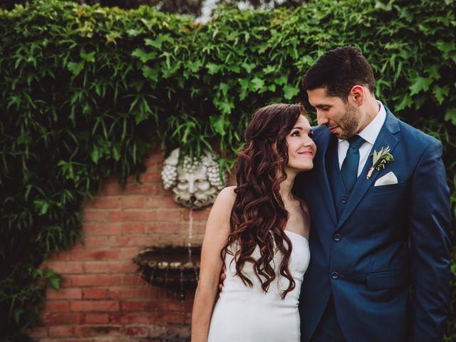 Il matrimonio di Joshua e Melissa a Montepulciano, Siena 28