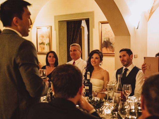 Il matrimonio di Joshua e Melissa a Montepulciano, Siena 38
