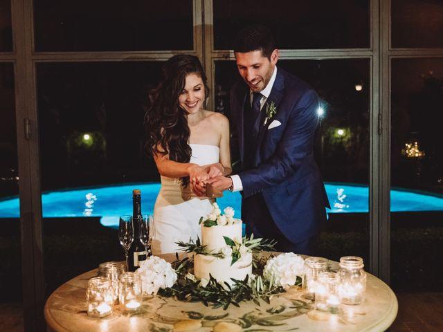 Il matrimonio di Joshua e Melissa a Montepulciano, Siena 48