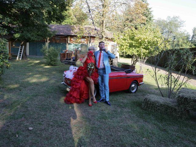 Il matrimonio di Leo e Lara a Samarate, Varese 15