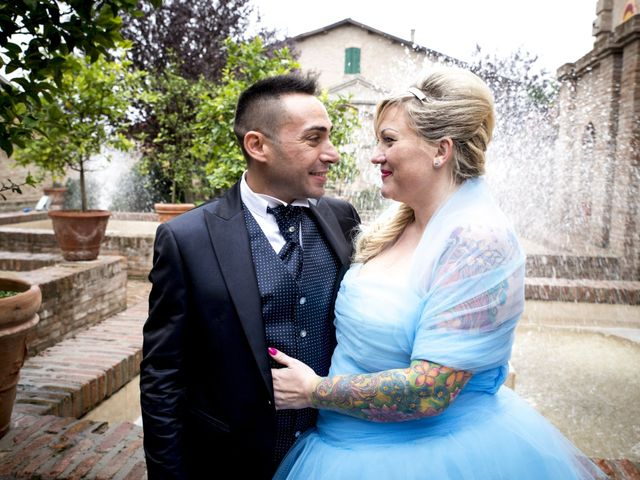 Il matrimonio di Davide e Sandy a San Felice sul Panaro, Modena 8