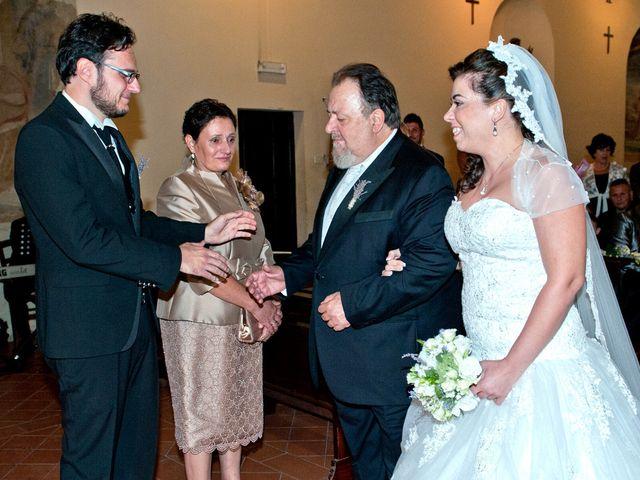 Il matrimonio di Marco e Claudia a San Gemini, Terni 19