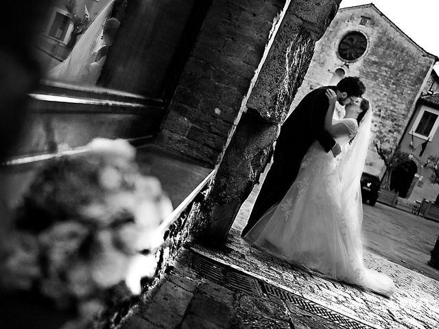 Il matrimonio di Marco e Claudia a San Gemini, Terni 35