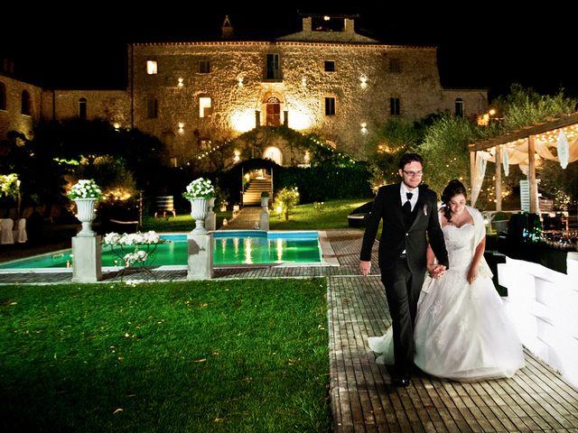 Il matrimonio di Marco e Claudia a San Gemini, Terni 37
