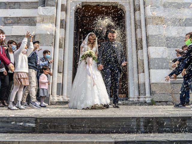 Il matrimonio di Ombretta e Glauco a Arenzano, Genova 8